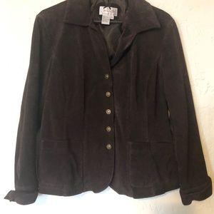 Liv A Little brown jacket, size XL
